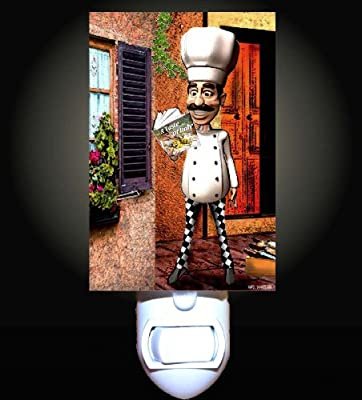 Italian Chef Decorative Night Light