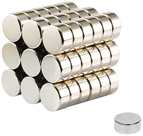 (6X4mm 45pcs Round Magnets for Refrigertor Magnets, Magnet,Office Magnets,Art&Craft Magnets,Whiteboard Magnets,Map Magnets,Durable Mini Magnets for Multi-Use)