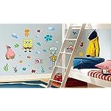 Spongebob Squarepants Peel & Stick Wall Decals Wall Decal TV Show Poster