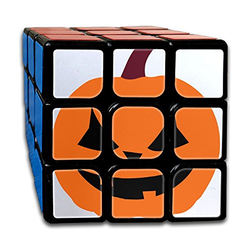 Pumpkin Halloween Magic Cube 3x3x3 Brain Teaser Game Rubix Puzzle Toy For Juniors Or Adult]()