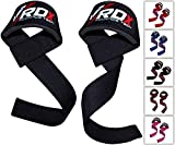 RDX Weight Lifting Straps   Padded Wrist Support Non Slip Flex Gel Grip   Great for Powerlifting, Bodybuilding, Gym Workout, Deadlifts & Fitness