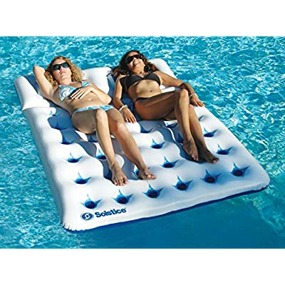 Solstice by Swimline Double Window Mattress: Toys & Games