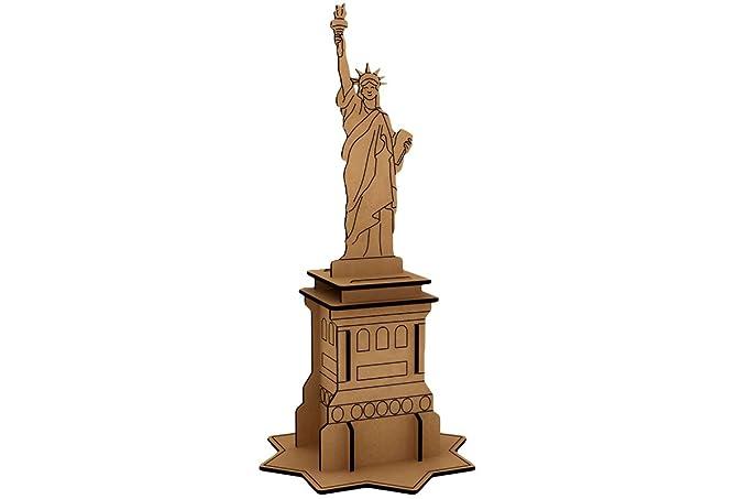Kit Manualidades Estatua Libertad: Amazon.es: Juguetes y juegos