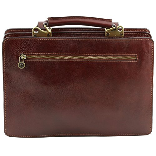 81412694 - TUSCANY LEATHER: TANIA grand - Sac à main en cuir, marron foncé
