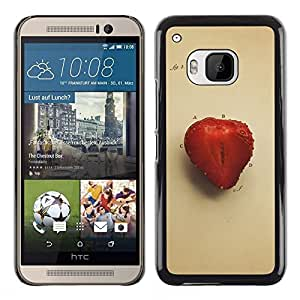 EJOY---Cubierta de la caja de protección la piel dura para el / HTC One M9 / --Juicu fresa