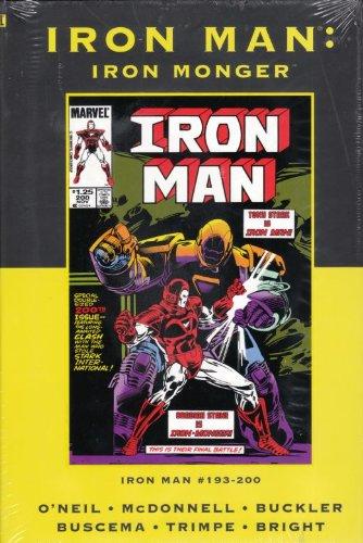 Download Iron Man: Iron Monger (Marvel Premiere Classic) Direct Market Variant (Marvel Premiere Classic, 41) PDF
