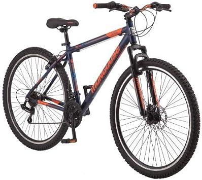 Mongoose.. Bicicleta de montaña de Aluminio Ligero para Hombre de ...