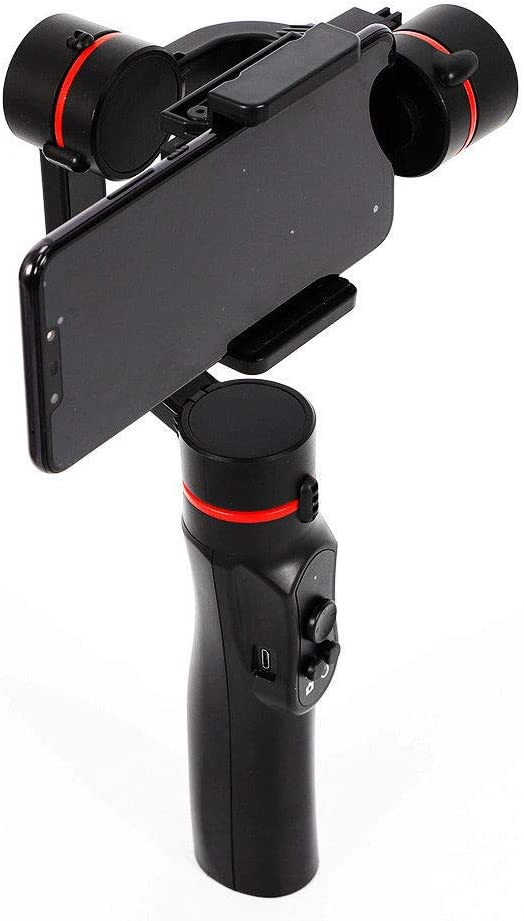 Smooth 4 3-Axis Handheld Smartphone Gimbal Stabilizer Black