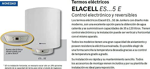 Junkers elacell excellence - Termo electrico es-150-5e 150l ...