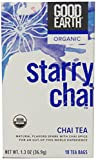 Good Earth Organic Starry Chai Tea, 18 Tea Count Bags