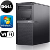 Dell Optiplex Tower - Intel Core 2 Duo 2.93GHz, 8GB RAM DDR2, NEW 1TB HDD, Windows 7 Professional 64-Bit, WiFi, DVD-ROM - (Certified Reconditioned)