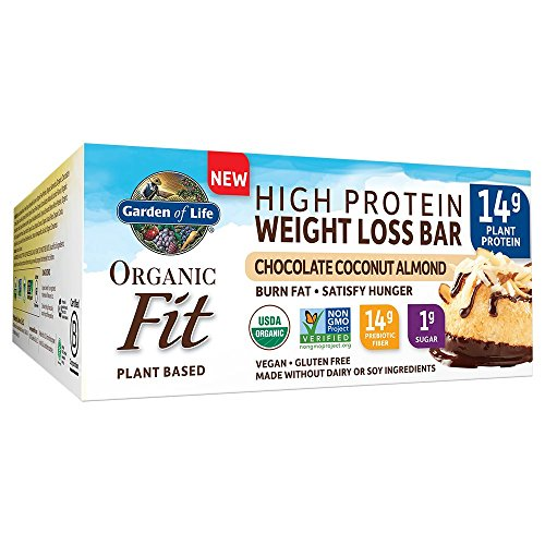 (Garden of Life Organic Fit Bar Chocolate Coconut Almond (12 per carton))