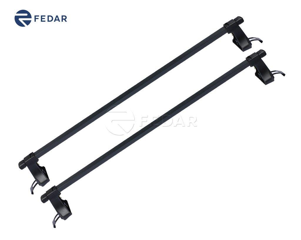 Fedar Universal Roof Rack Cross Bar Cargo Carrier For Most 4 Door Car/Truck
