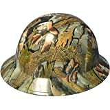 Texas America Safety Company Confederate Camo Full Brim Style Hydro Dipped Hard Hat