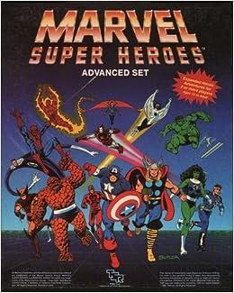 Marvel Super Heroes, Advanced Set/Game: Jeff Grubb