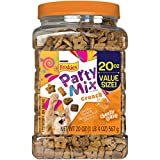 #8: Purina Friskies Party Mix Crunch Cheezy Craze Cat Treats - 20 oz. Canister