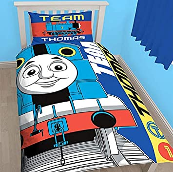 e1d9dd3a55c1 Image Unavailable. Thomas and Friends The Tank Engine Kids Single DOONA  Duvet Quilt Bedding Cover,Next Day