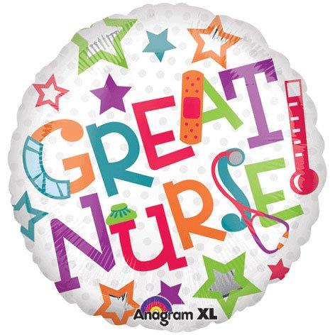 Great Nurse Balloon (Nurse Party Decorations)