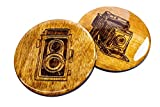 Premium Photography Coasters - 8 Handmade