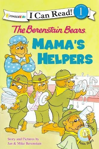 The Berenstain Bears: Mama's Helpers (I Can Read! / Good Deed Scouts / Living Lights)