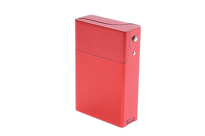 Quantum Abacus Caja/Funda de Aluminio, para 18 Cigarrillos/Paquetes de Cigarrillos (Blandos), Mod. 420-04 (DE): Amazon.es: Equipaje
