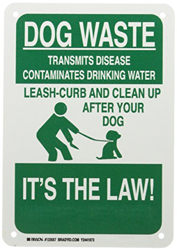 Brady 123557 Recycle and Environment Sign, Legend