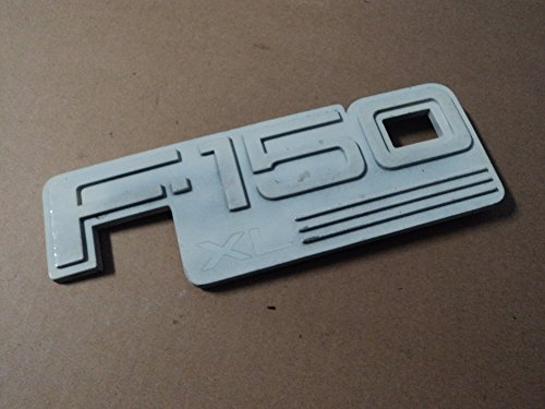 92-96 Ford F150 Xl White Side Door Fender F2tb-16b114-aa Emblem Logo Symbol Decorative Mopar Fender 94 95 96 Car