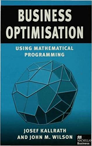 Book Business Optimisation: Using Mathematical Programming