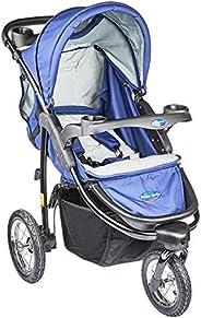 Carrinho de Bebe Triciclo, Prime Baby, Azul