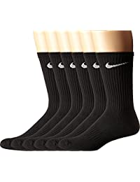 Performance Cushion Crew Socks with Bag (6 Pack)