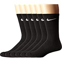 NIKE Performance Cushion Crew Socks with Bag (6 Pairs)