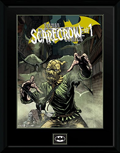 Gb Eye 16 x 12-inch Dc Comics Scarecrow Alley Framed Photograph, Multi-colour ()