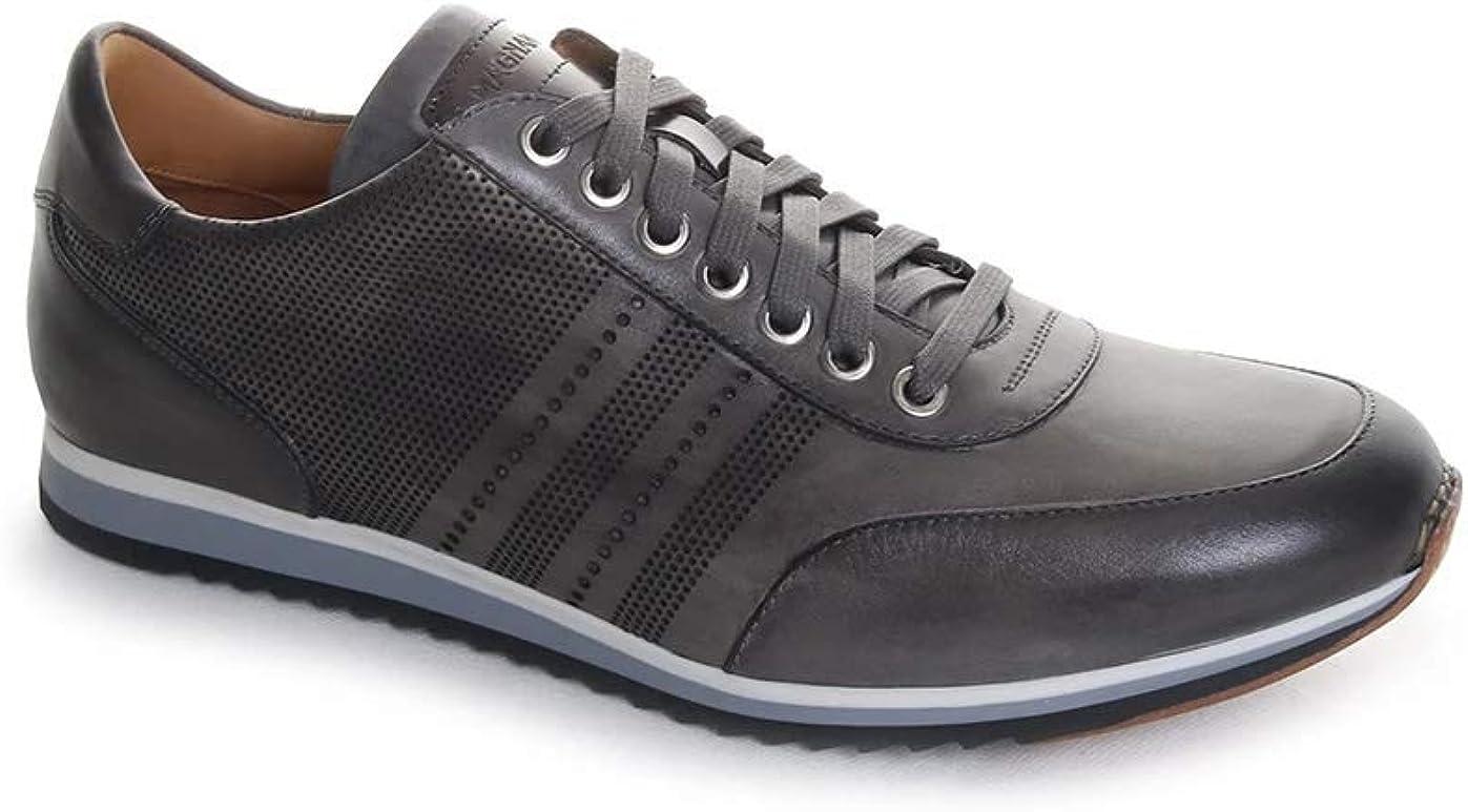 Magnanni Men's Merino Sneaker in Grey