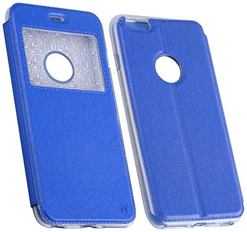 One plus Metallic Cover für Apple iPhone 6/6S–Blau