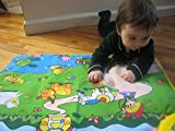 WolVol Musical Play Mat for Baby Toddlers Kids - Crawling Baby Toy Learning Development - Animals and Farm Activity Sounds