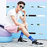WeciBor Men's Oil Painting Cool Colorful Novelty
