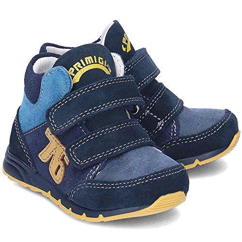 Primigi - Zapatillas para niño Azul blu/light blu