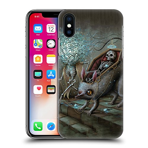 Official Jason Limon No Mans Land Skull Hard Back Case for iPhone X/iPhone Xs