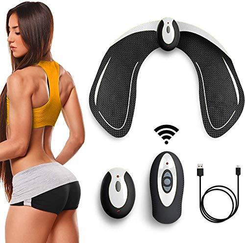 Elettrostimolatore Glutei Muscolare Elettronico Natica Trainer,EMS Glutei Allenatore con USB Ricaricabile, Glutei…