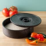 HS Inc HS1001CC - Insulated 8-in Tortilla Server, Charcoal review