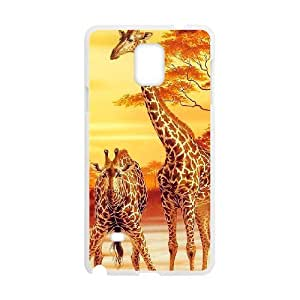 ANCASE Giraffe 3 Phone Case For Samsung Galaxy note 4 [Pattern-1]