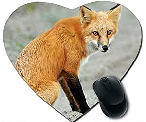 Red Fox Mouse Pad Desktop Mousepad Laptop Mousepads Comfortable Office Of Mouse Pad Mat Cute Gaming Mouse Pad