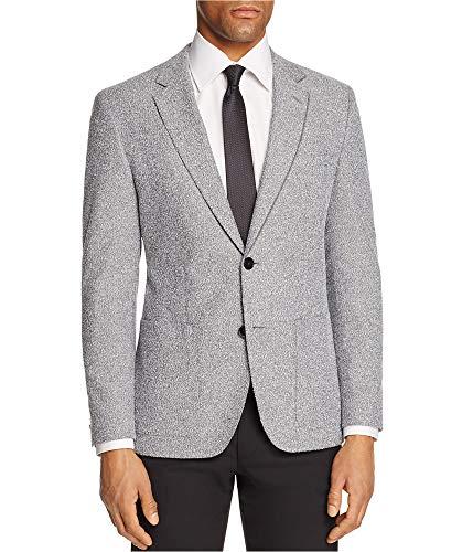 Hugo Boss Mens Slub Sport Coat Grey ()