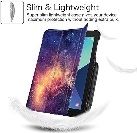 Fintie Samsung Galaxy Tab S3 9.7 Custodia Constellation Ultra Sottile Leggero Tri-Fold Case con Auto Svegliati//Sonno Protettivo S Pen Holder per Samsung Galaxy Tab S3 9.7 SM-T825 T820