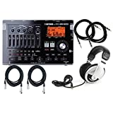 Boss BR 800 Digital Recorder w/2 Free 10' Inst. Cables, 2 20' XLR Cables, and ATHM2X Headphones
