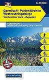 Outdoorkarte 03. Garmisch-Partenkirchen 1 : 35.000: Wettersteingebirge (Kümmerly+Frey Outdoorkarten Deutschland)