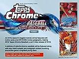 #7: 2018 Topps Chrome Baseball Hobby Box (2 Autographs/Box)