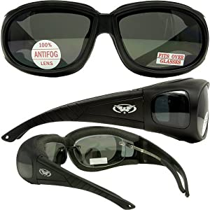 Global Vision Outfitter Smoke Anti Fog Has Side Lenses That Provide Great Peripheral Vision