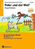 Peter Und Der Wolf Cd Ein Sinfonisches M 228 Rchen F 252 R border=