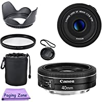 Canon EF 40mm f/2.8 STM Lens Bundle